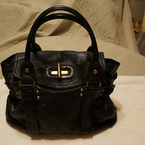 Large Hype leather purse bag